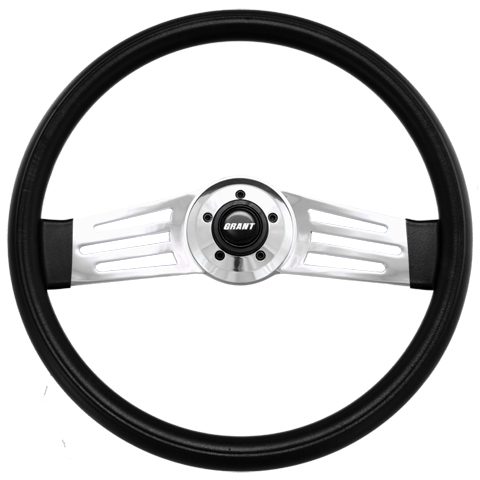 "Driver Series 2 Spoke Long Slot 18"" Steering Wheel"