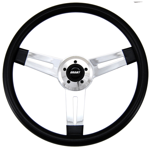 "Driver Series 3 Spoke Slot Cut 20"" Steering Wheel"
