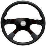 "Stealth 4 Spoke 17 3/4"" Steering Wheel"