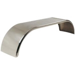 "Smooth Aluminum Full Rear Fender (24""H X 25""W X 111""L)"