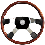 "Tour 4 Series Sport 4 Spoke 18"" Steering Wheel"