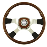 "Tour 4 Series Classic 4 Spoke 18"" Steering Wheel"