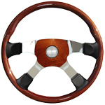 "Tour 4 Series Exclusive 4 Spoke 18"" Steering Wheel"