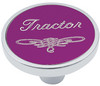 Universal Pin on Tractor Knob - Purple