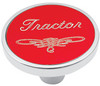 Universal Pin on Tractor Knob - Red