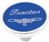 Universal Pin on Tractor Knob - Blue