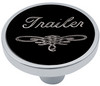 Universal Pin on Trailer Knob - Black
