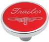 Universal Pin on Trailer Knob - Red