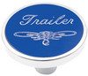 Universal Pin on Trailer Knob - Blue