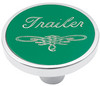 Universal Pin on Trailer Knob - Green
