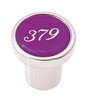 Peterbilt 379 Plain Knob - Purple