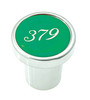 Peterbilt 379 Plain Knob - Green
