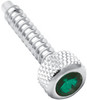 Freightliner Jeweled Dash Screw - Green (2 pk)
