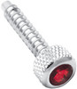 Freightliner Jeweled Dash Screw - Red (2 pk)