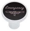 Universal Pin On Emergency Knob - Black