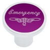 Universal Pin On Emergency Knob - Purple