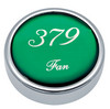 Peterbilt 379 Fan Knobs - Green