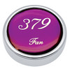 Peterbilt 379 Fan Knobs - Purple