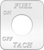 Freightliner FLD Classic Fuel Tach On/Off Switch Plate