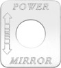 Freightliner FLD Classic Power Mirror Switch Plate