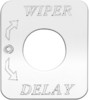 Freightliner FLD Classic Wiper Delay Switch Plate
