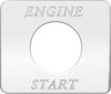 Freightliner FLD Classic Engine Start Switch Plate