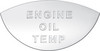 International Engine Oil Temp Gauge Emblem