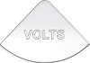 International Volts Gauge Emblem