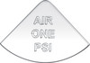 International Air One PSI Gauge Emblem