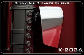 Kenworth W900L Air Cleaner Fairings