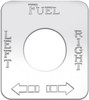 Kenworth Fuel Left/Right Switch Plate