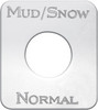 Kenworth Mud & Snow Normal Switch Plate