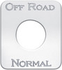 Kenworth Off Road/Normal Switch Plate