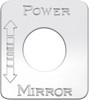 Kenworth Power Mirror with Arrows Switch Plate