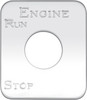 Kenworth Engine Run/Stop Switch Plate