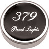 Peterbilt 379 Panel Light Knobs - Black
