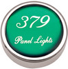 Peterbilt 379 Panel Light Knobs - Green