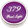 Peterbilt 379 Panel Light Knobs - Purple