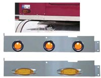 Freightliner Classic 18 Inch Blank Extension Panel