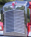 Kenworth W900L Angled Louvered Grille - 16 Angled Louvers
