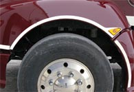 Kenworth T660 Front Fender Side Trim