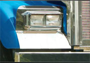 Kenworth W900L Headlight Surround Fender Guard