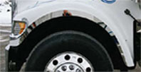 International 9000 Series Front Side Fender Trim