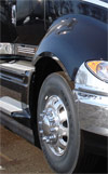 International Prostar Front Side Fender Trim