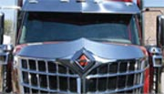 International Lonestar Hoodshield Bug Deflector