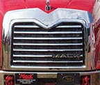 Mack Vision & Pinnacle Bug & Side Grill Deflector