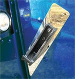 Peterbilt 389 Hood Latch Guard