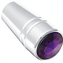 Peterbilt Chrome Guarded Toggle Extensions - Purple