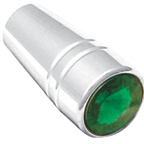 Peterbilt Chrome Guarded Toggle Extension - Green
