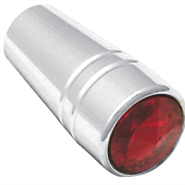 Peterbilt Chrome Guarded Toggle Extension - Red